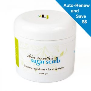 auto renew sugar scrub